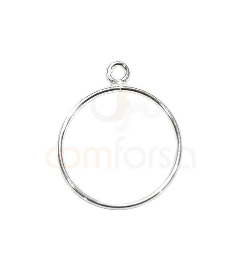 Sortija hilo con anilla plata 925 nº12