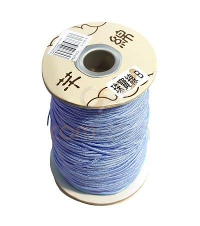 Nylon trenzado Azul claro 0.8 mm
