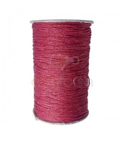 Japanese Red Silk Cord 0,8mm (sold per meter)