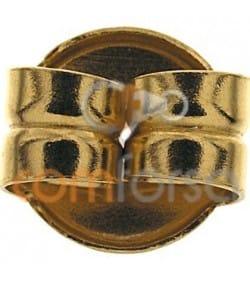 18kt Yellow gold big scroll