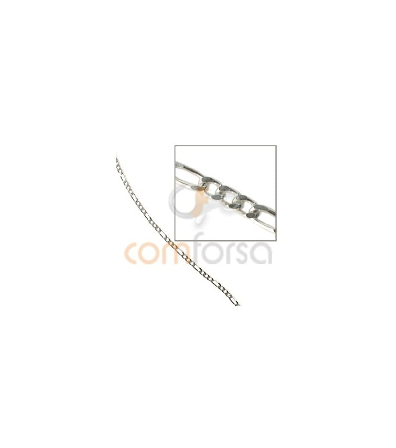 Sterling silver 925 thin figaro chain