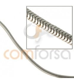 Cadena cola de ratón 1,2 mm