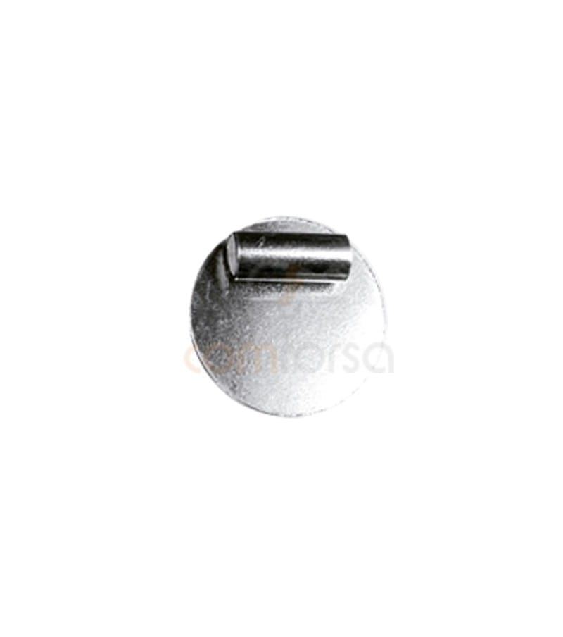 Sterling silver 925 pendant 15mm with tube
