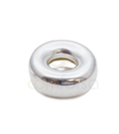 Donut 10 mm (3.6) plata 925 ml