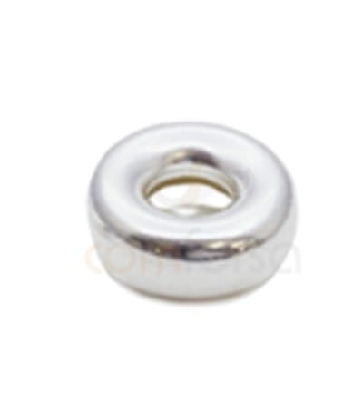 Donut 8 mm (2.6) plata 925 ml