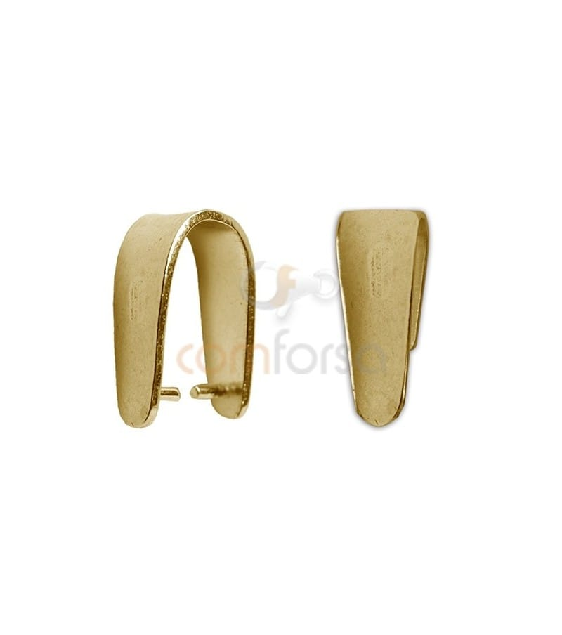 Gold Plated Sterling Silver 925 thick Bail