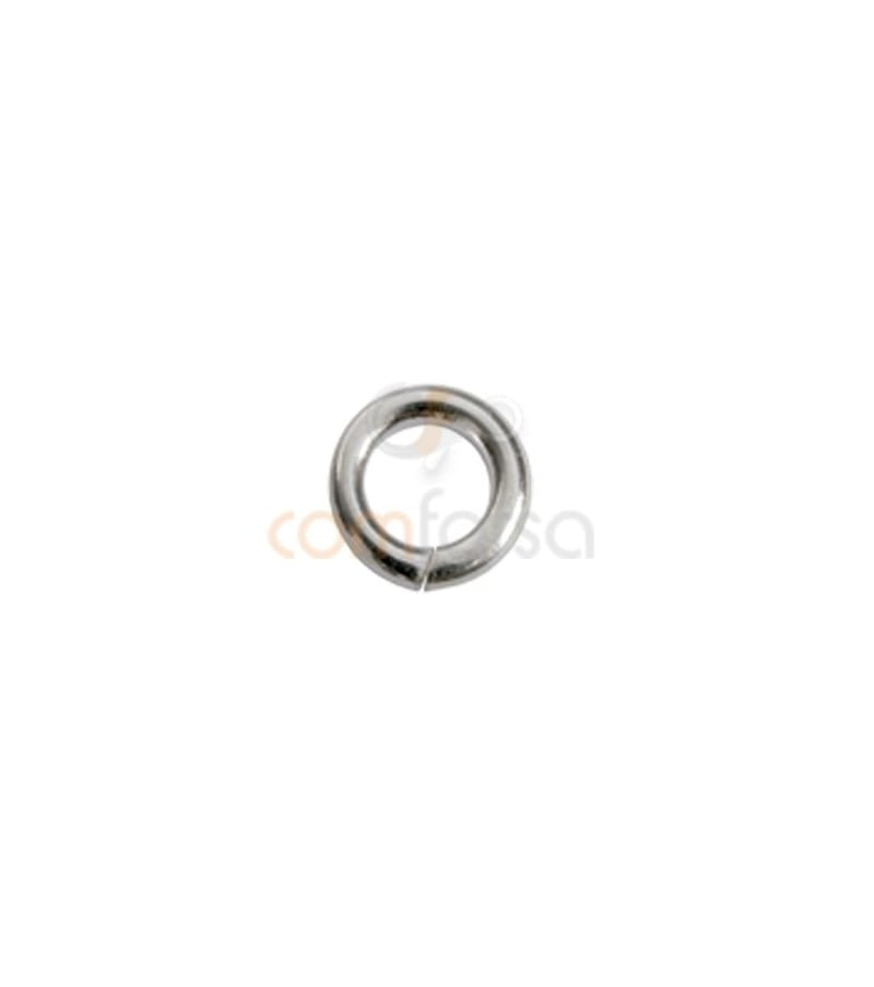 Sterling Silver 925 Open jumpring 10 mm