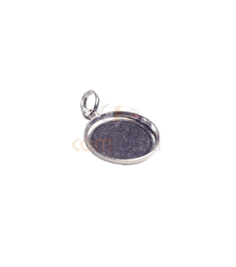 Sterling Silver 925 Pendant 15 mm