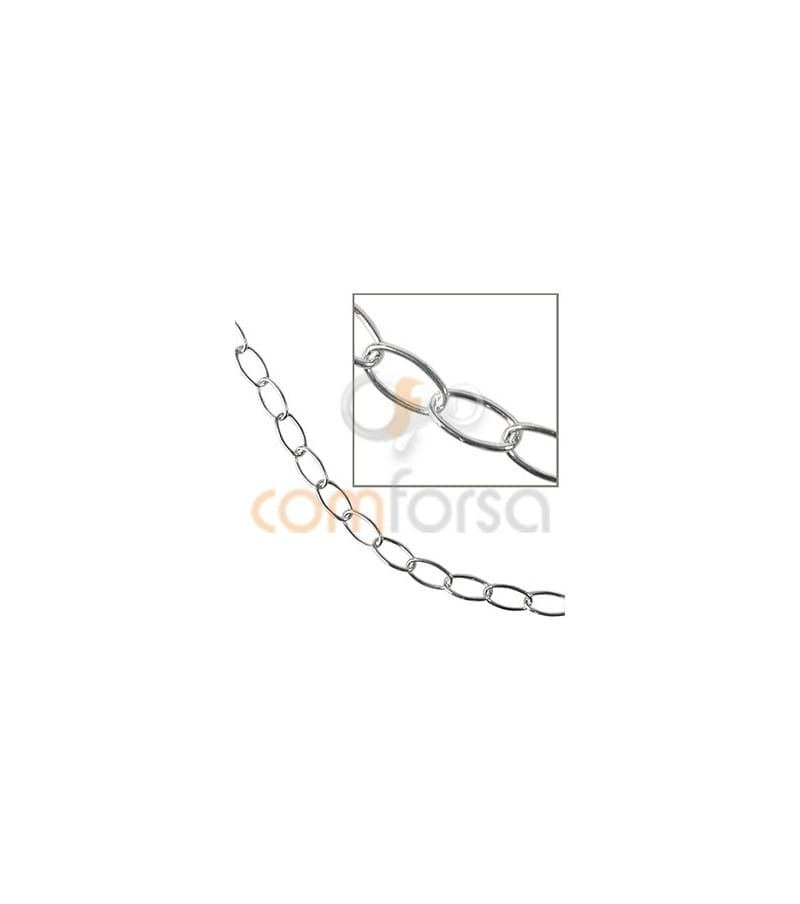Sterling silver 925 rolo chain