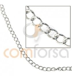 Sterling silver 925 small curb chain