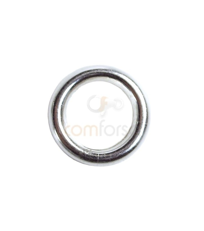 Sterling silver 925 jumpring 8 mm