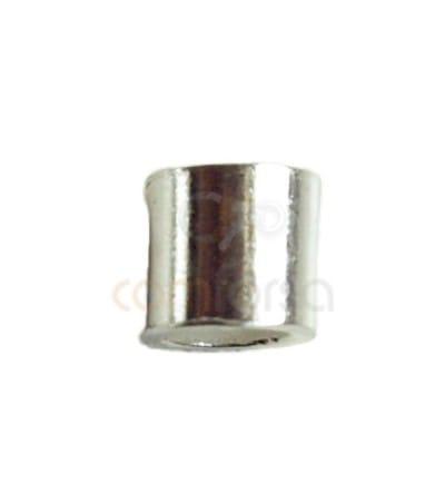 Sterling silver 925 crimp tube 2.5 x 2.5 mm