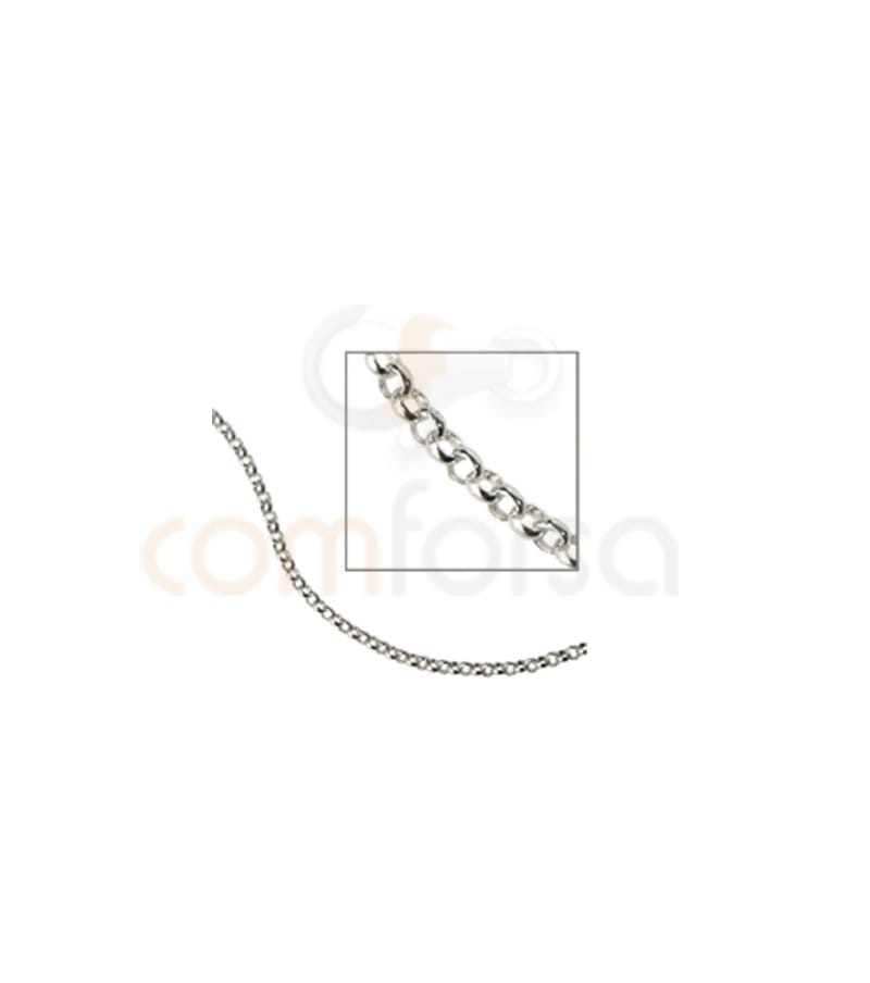 Sterling silver 925 belcher oval chains 2mm (grammes)